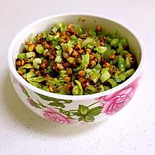 无油芹菜黄豆
