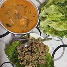 泰式生菜包肉碎