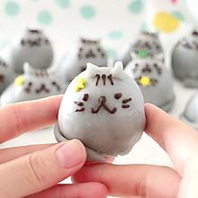 秒杀朋友圈所有月饼,最萌手作中秋礼:小猫咪奶黄冰皮月饼