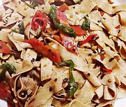 #豆果10周年生日快乐#香辣豆腐皮,好吃又过瘾的做法