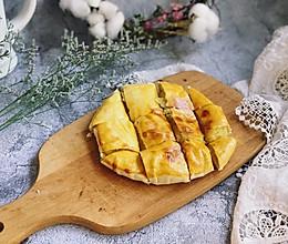 #做道懒人菜,轻松享假期#网红榴莲饼的做法