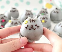 秒杀朋友圈所有月饼,最萌手作中秋礼:小猫咪奶黄冰皮月饼的做法