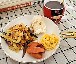 #换着花样吃早餐#低脂健康餐的做法