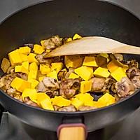 南瓜排骨焖饭的做法图解6