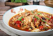 极妙厨房丨爽辣开胃的爆炒牛蛙的做法