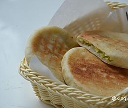 角瓜虾仁馅饼(皮薄馅足易消化)的做法