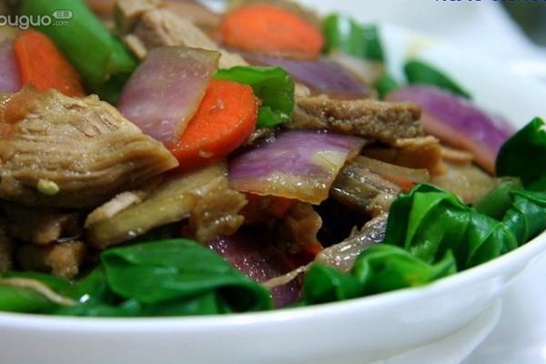 炒里脊回锅肉的做法