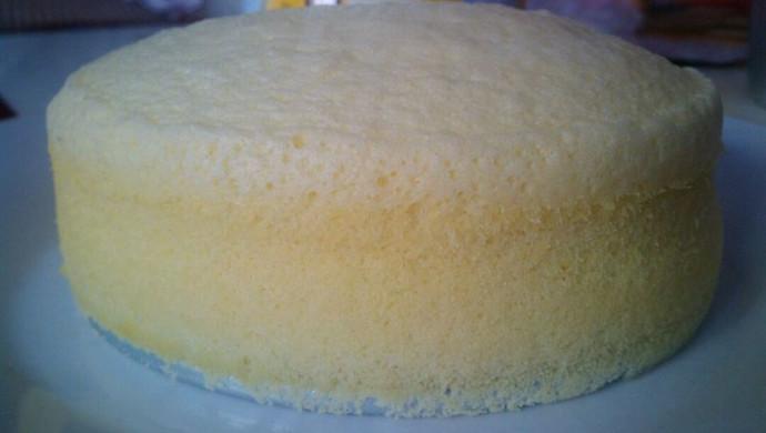无水无油简单的蒸蛋糕