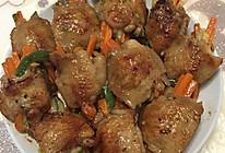 美味鸡翅蔬菜酿#一招致胜#的做法