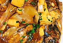 小姨妈水库鱼头焖豆腐的做法