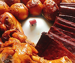 #夏日消暑,非它莫属# 好吃到爆的家庭简单版卤味拼盘的做法