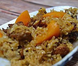 减脂时的美味:南瓜排骨糙米饭的做法