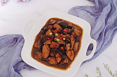 红烧鸡块——简易版小鸡炖蘑菇