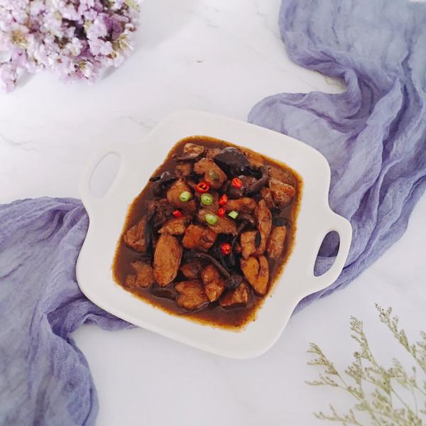 红烧鸡块——简易版小鸡炖蘑菇//就是红烧吃不腻!//的做法