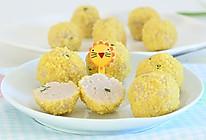 小米裹肉丸 宝宝辅食微课堂的做法