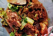 腔骨炖白菜的做法