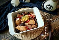"""香菇蒸鸡翅+#在""""家""""打造ins风美食#的做法"""