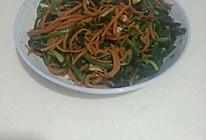 清炒菠菜胡萝卜的做法
