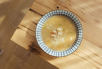 大虾汤泡饭的做法