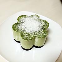 抹茶豆腐芝士蛋糕的做法图解13