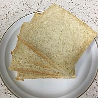 营养美味的芝士肉松三明治(含折纸法)的做法图解4