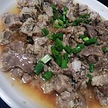 家常菜#豉汁蒸排骨猪脷#