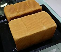 蜜豆土司(450G两个)的做法
