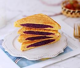 紫薯西多士的做法