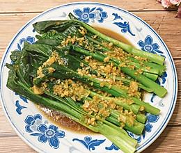 #我们约饭吧#蒜蓉菜心的做法