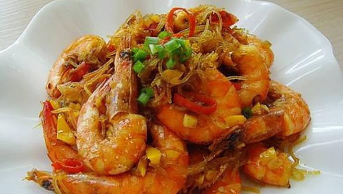 WAUGH'S泰式咖喱粉丝虾