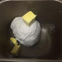 日式炼乳蔓越莓手撕面包的做法图解3
