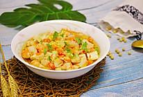 虾仁蒸豆腐的做法