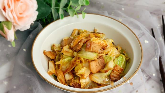 #好吃不上火#油腐乳包菜炒肉