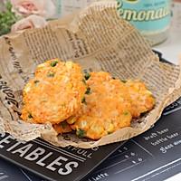 #美食视频挑战赛#芝士鸡肉蔬菜饼的做法图解11