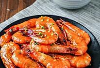 茄汁油焖虾的做法
