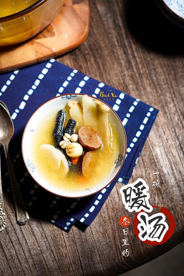清热润肺的玉竹百合莲子汤【老广东养生汤系列】的做法