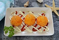 名厨菜谱-虾肉芝士球的做法