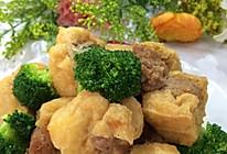 肉塞豆腐泡的做法