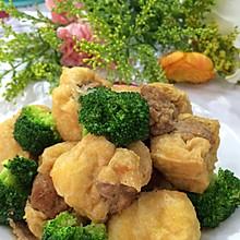 肉塞豆腐泡
