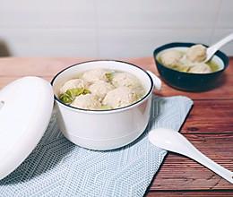 豆腐肉圆子白菜萝卜汤的做法