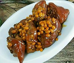 红烧猪蹄黄豆的做法