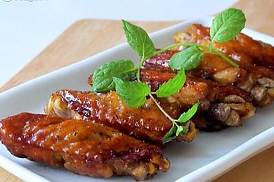 轻而易举两种吃法------黑胡椒烤翅&黑胡椒蜜汁鸡翅