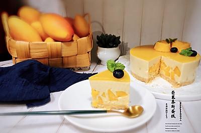 芒果慕斯蛋糕(免烤)
