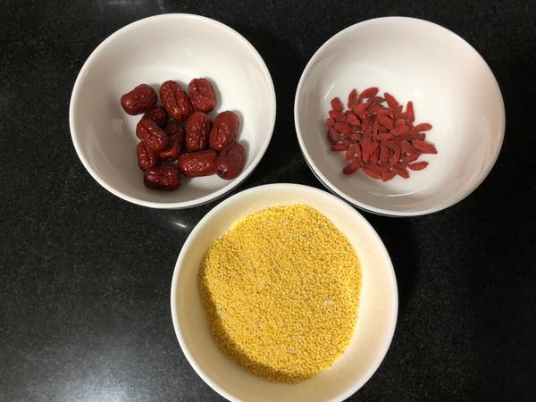 秀出我的早餐——枸杞红枣小米粥