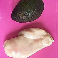 宝宝辅食:牛油果鸡肉泥(适合7个月以上的宝宝)的做法图解1