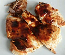 减肥餐  黑胡椒鸡胸肉的做法
