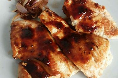 减肥餐  黑胡椒鸡胸肉