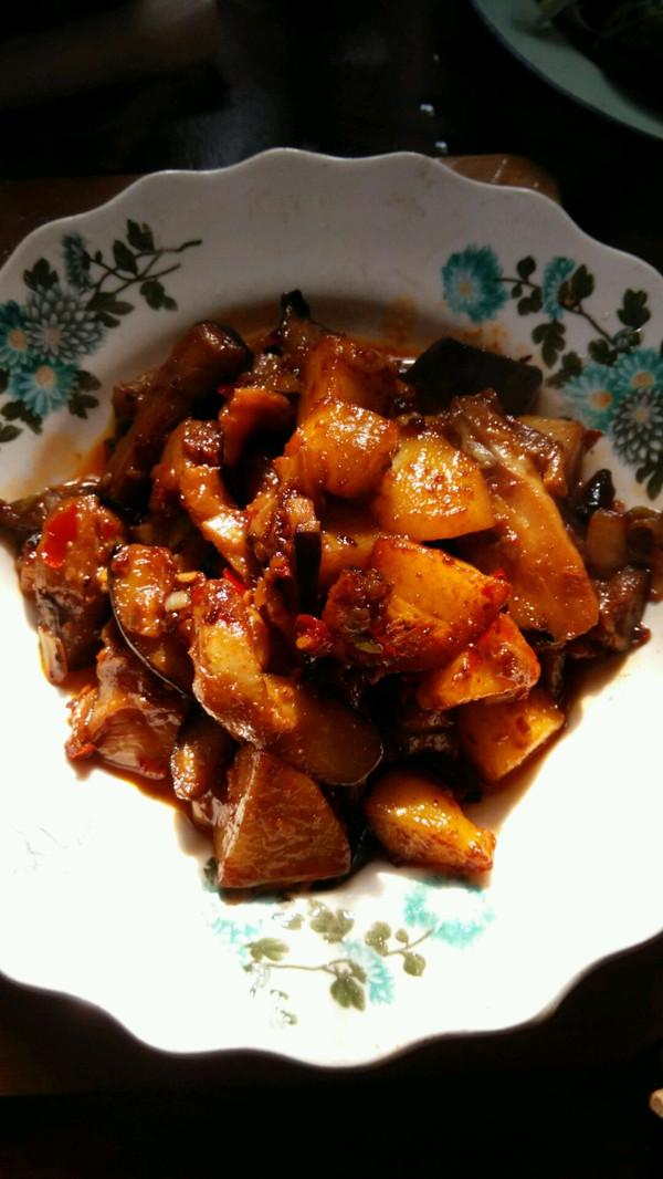 茄子烧土豆的做法