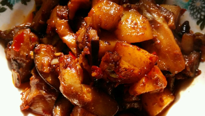 茄子烧土豆