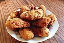 面包糠脆皮炸鸡翅的做法